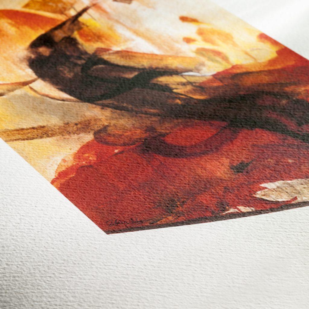 watercolour texture Fine Art Paper