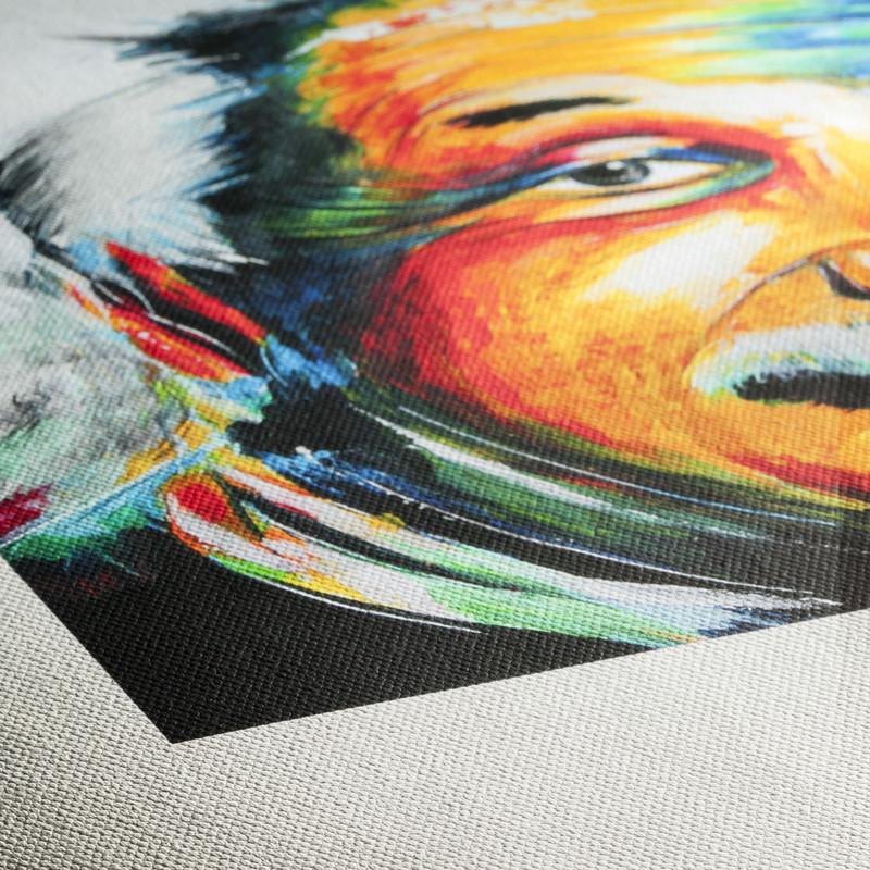 smooth matte fine art canvas