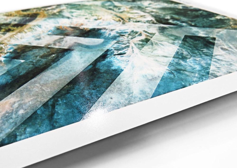 Epson premium lustre photo paper with slightly textured satin finish